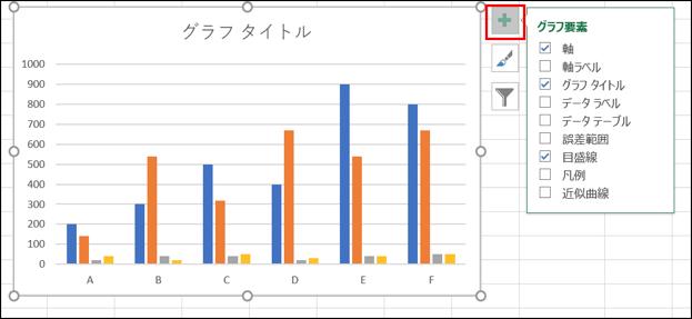 グラフ要素選択画像